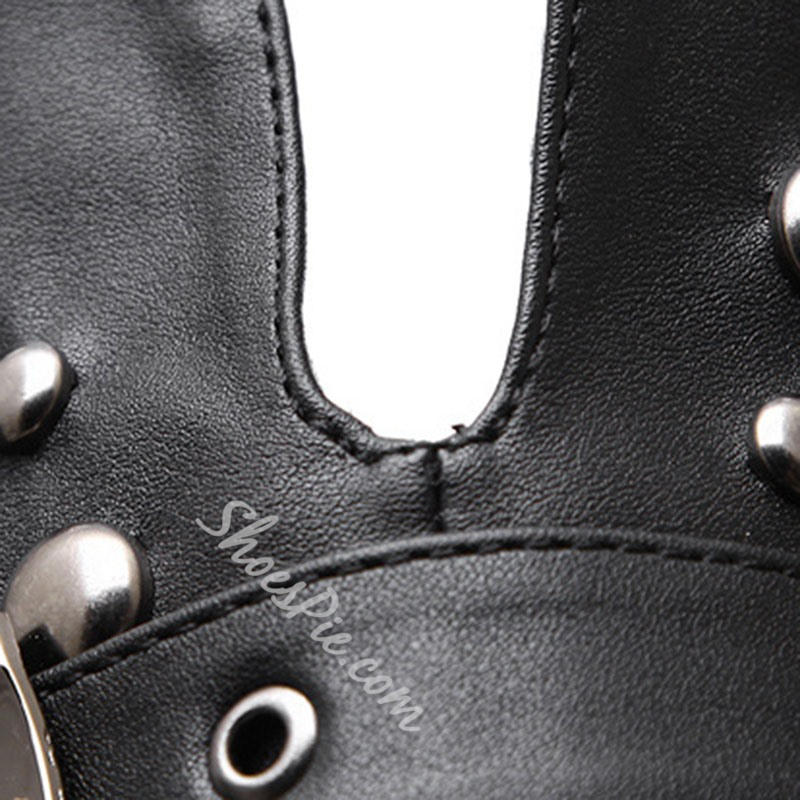 Shoespie Trendy Plain Round Toe Hasp Sexy Boots