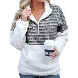Color Block Standard Women's Hoodie