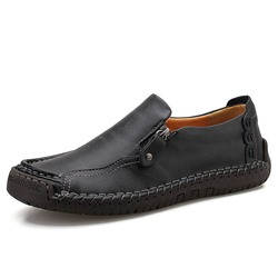 Shoespie Men's Low-Cut Upper Slip-On Round Toe Loafers