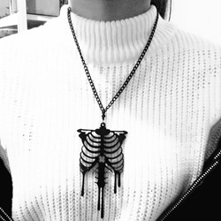 Pendant Necklace European Skull Unisex Necklaces