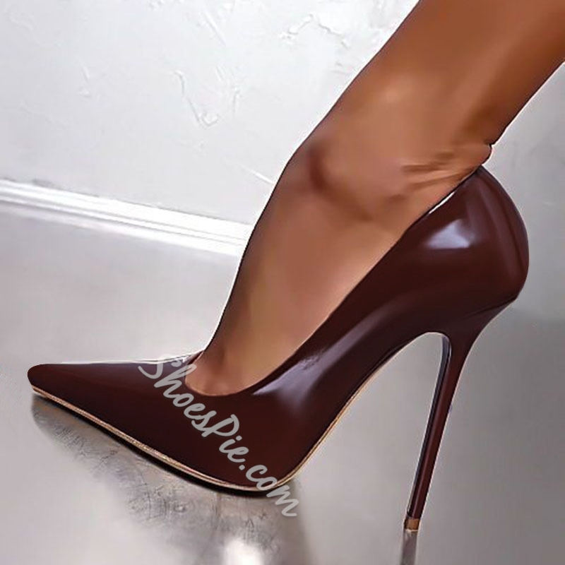 Shoespie Stylish Stiletto Heel Pointed Toe Pumps
