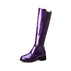 Shoespie Sexy Round Toe Plain Side Zipper Fashion Boots