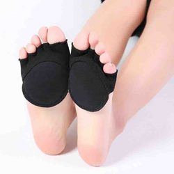 Cotton Invisible Five-Finger Half Socks
