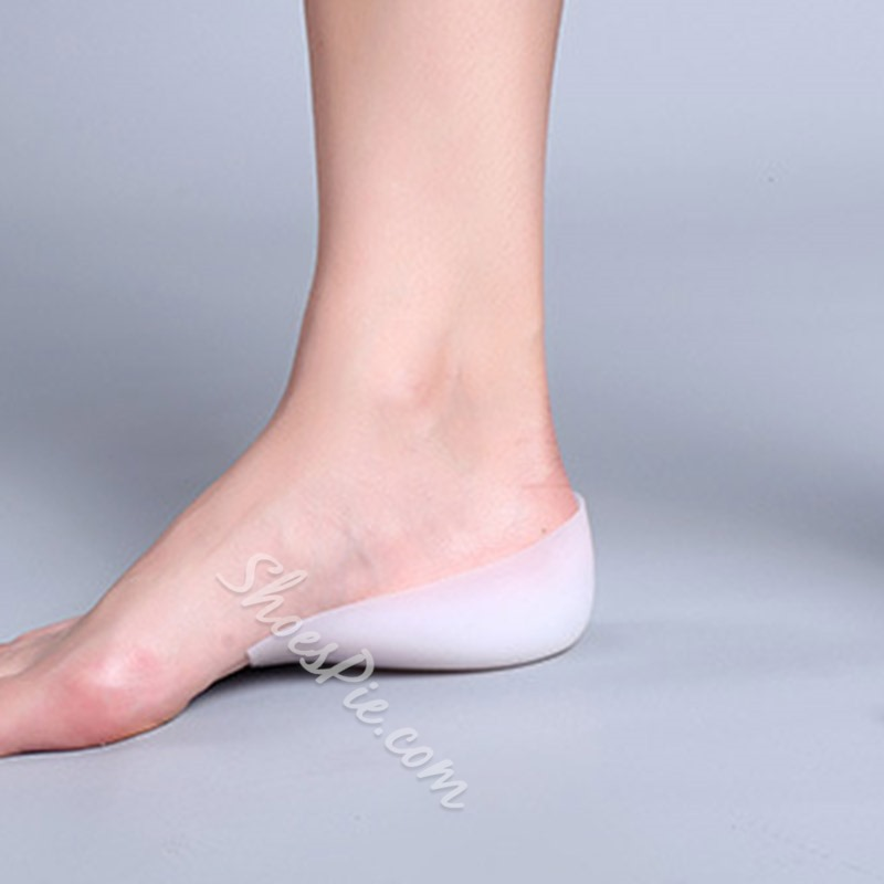Silicone Invisible Heightening Half Insole