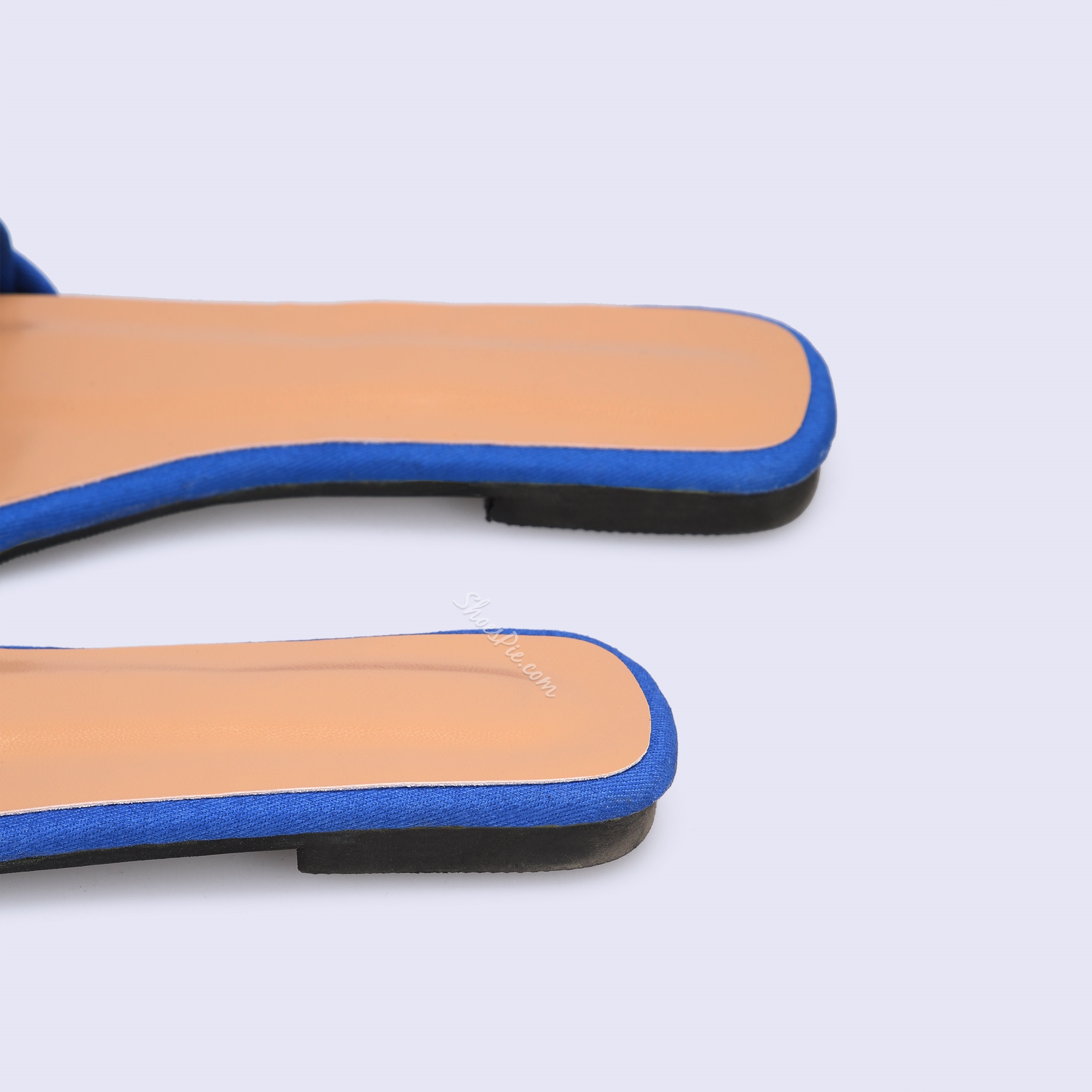 Shoespie Knitted Flat Summer Slippers