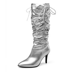 Shoespie Sexy Plain Pointed Toe Stiletto Heel Casual Boots