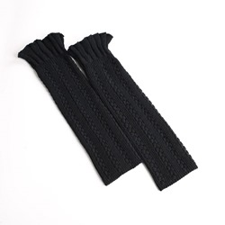 Knitted Stylish Ruffle Casual Leg Warmers