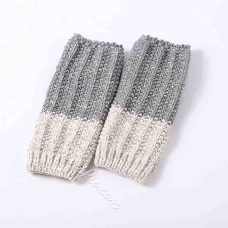 Wool Mixed Color Winter Socks