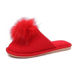 Shoespie Sexy Slip-On Closed Toe Candy Color Indoor Slippers