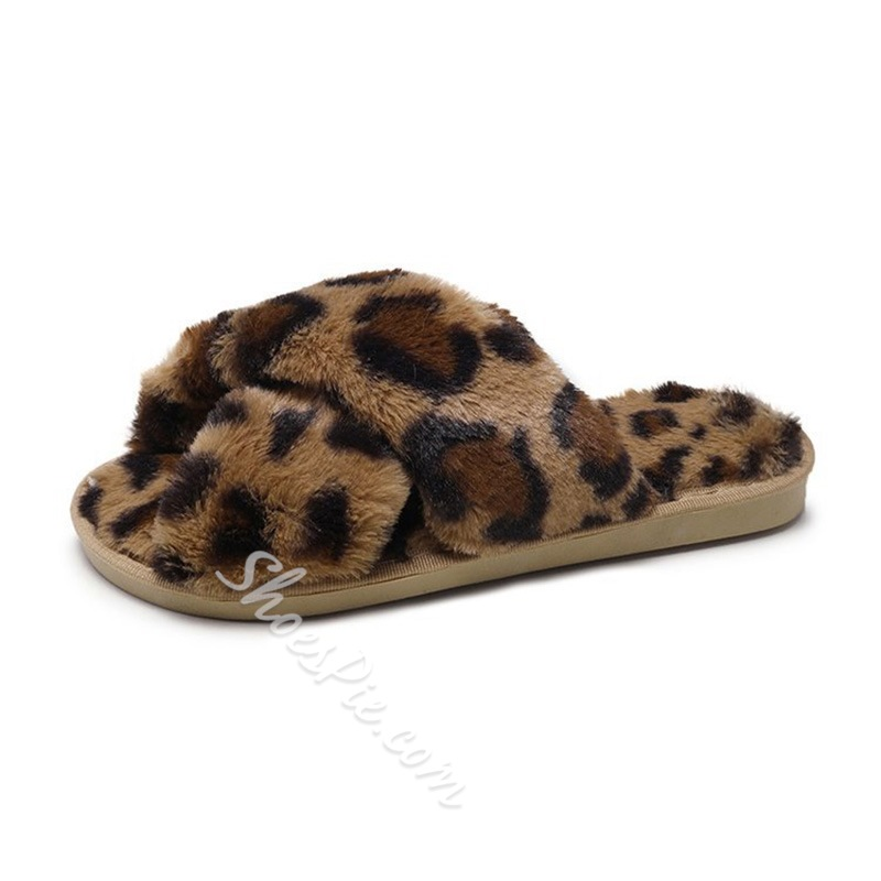 Shoespie Stylish Cross Flat With Slip-On Rubber Slippers