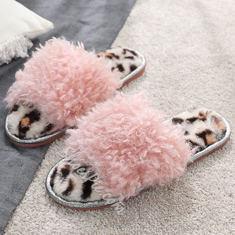 Shoespie Stylish Flip Flop Flat With Slip-On Indoor Slippers