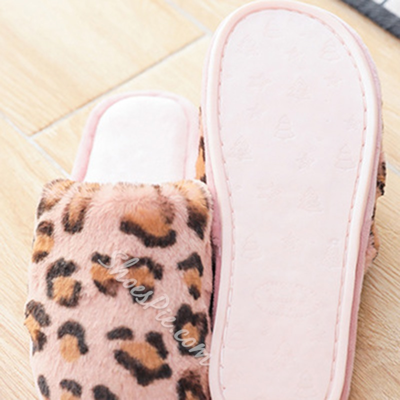 Shoespie Stylish Slip-On Flat With Closed Toe Compound Slippers