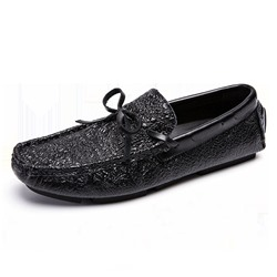 Shoespie Men's Low-Cut Upper Slip-On PU Thin Shoes