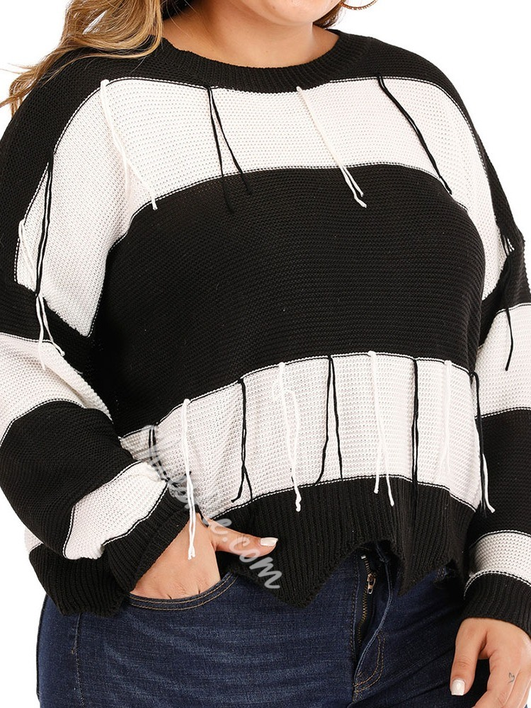 Plus Size Thin Loose Women's Sweater