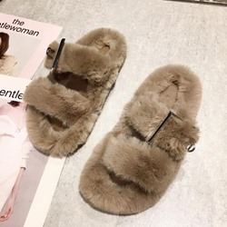 Shoespie Trendy Flip Flop Hollow Flat With Indoor Slippers