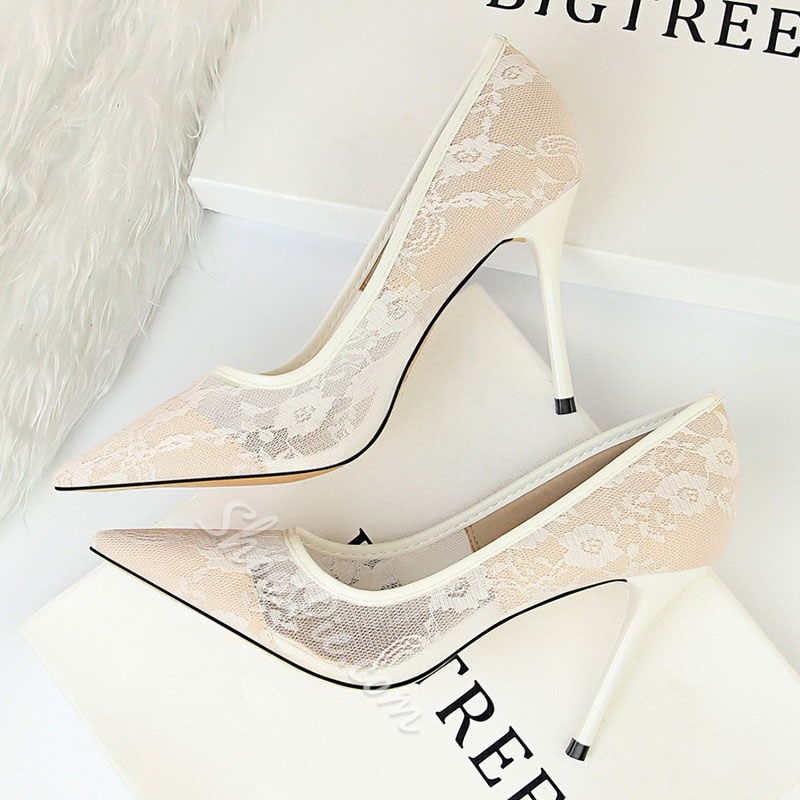 Shoespie Stylish Hollow Slip-On Pointed Toe Sexy Thin Shoes