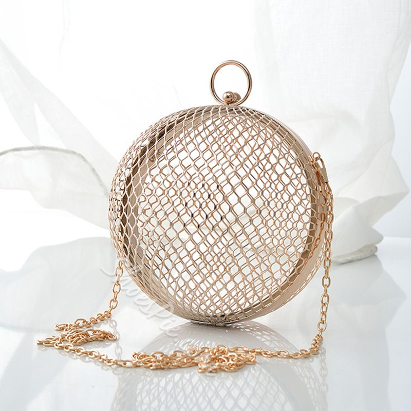 Shoespie Banquet Circular Clutches & Evening Bags