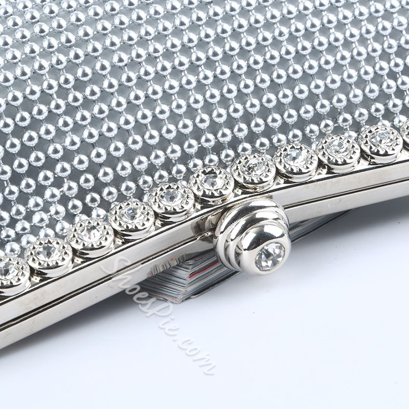 Shoespie Banquet Rhinestone Clutches & Evening Bags