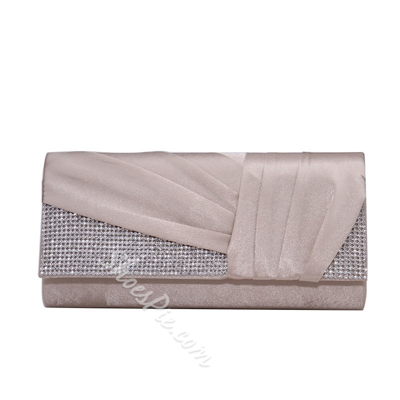 Shoespie Rectangle Satin Versatile Clutches & Evening Bags