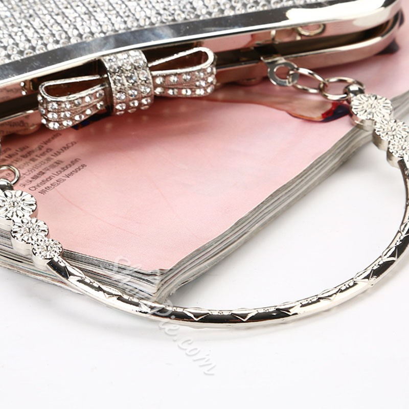 Shoespie Women Rhinestone Banquet Clutches & Evening Bags
