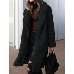 Regular Wrapped Loose Winter Women's Overcoat