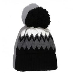 Acrylic Knitted Hat Pompon Spring Hats