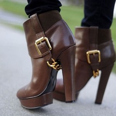 Shoespie Sexy Round Toe Side Zipper Plain Casual Boots