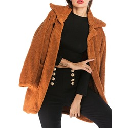 Regular Loose Winter Women's Overcoat