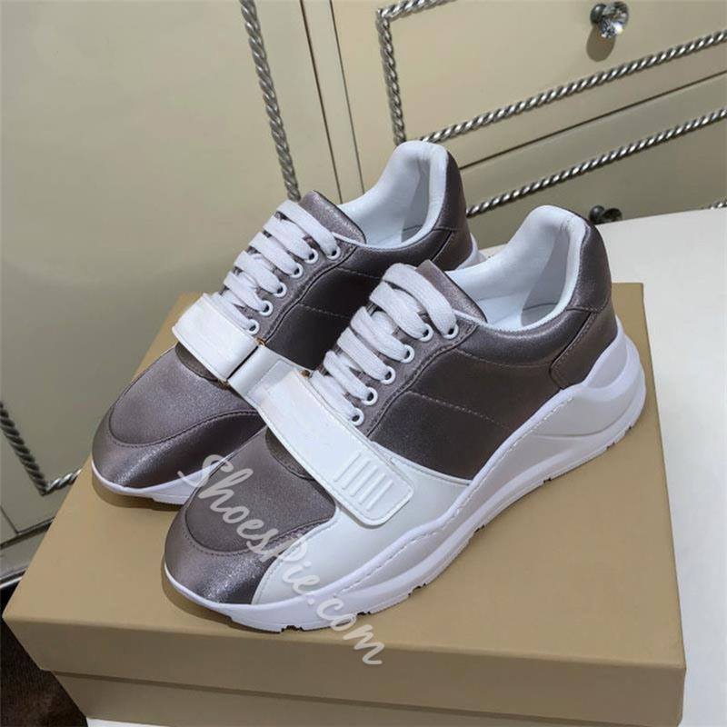Shoespie Sexy Low-Cut Upper Lace-Up Round Toe Western Sneakers