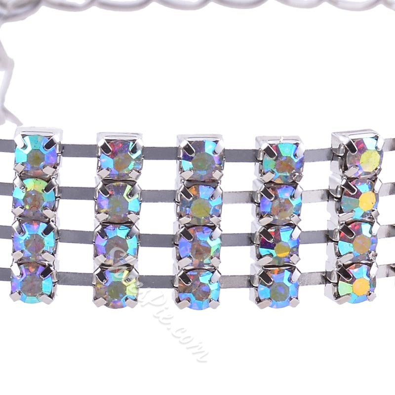 Diamante Female European Anklets