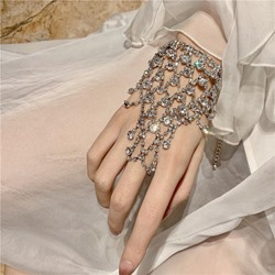 Plain Diamante Romantic Wedding Female Bracelets
