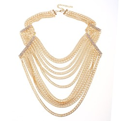Plain Western Party Chain Necklaces