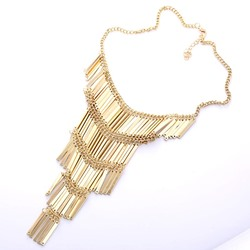 European E-Plating Western Pendant Necklace