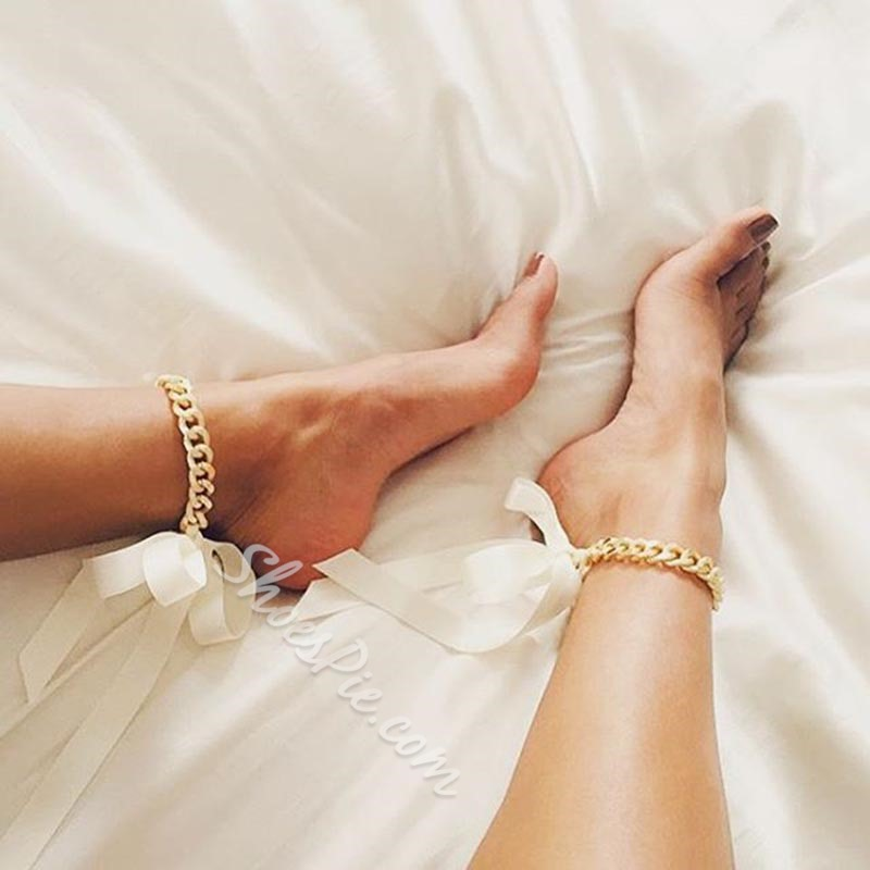 European Female E-Plating Anklets Anklets
