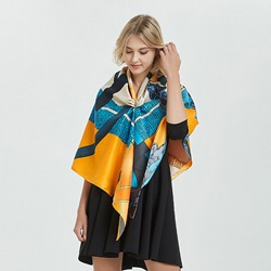 Print Fashion Shawl Geometric Pattern Scarves