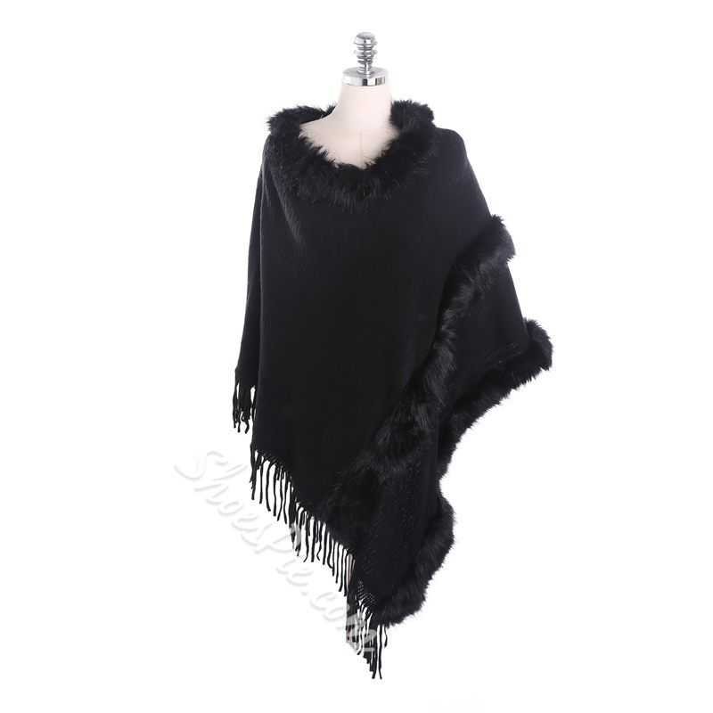 Rough Selvedge Shawl Ladylike Plain Scarves