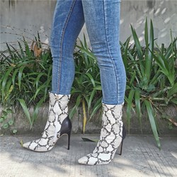 Shoespie Trendy Side Zipper Pointed Toe Fashion Boots