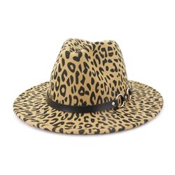 Fashion Fedora Hat Print Spring Hats