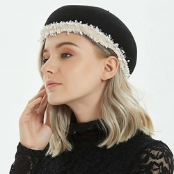 Patchwork Beret Wool Blends Spring Hats