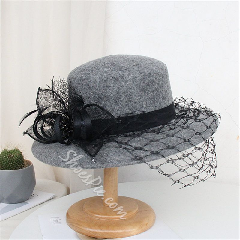 Vintage Fedora Hat Wool Winter Hats
