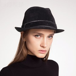 Fedora Hat Hemming Polyester Plain Hats