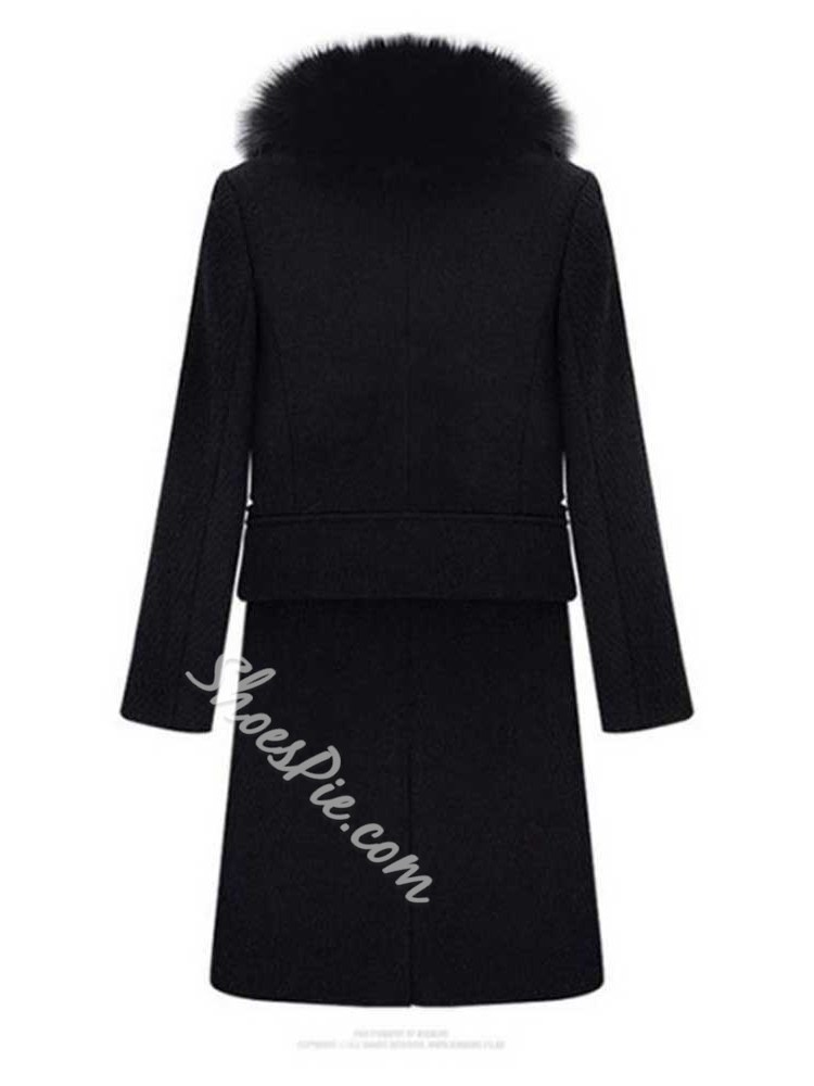 Zipper Loose Winter Women's Overcoat