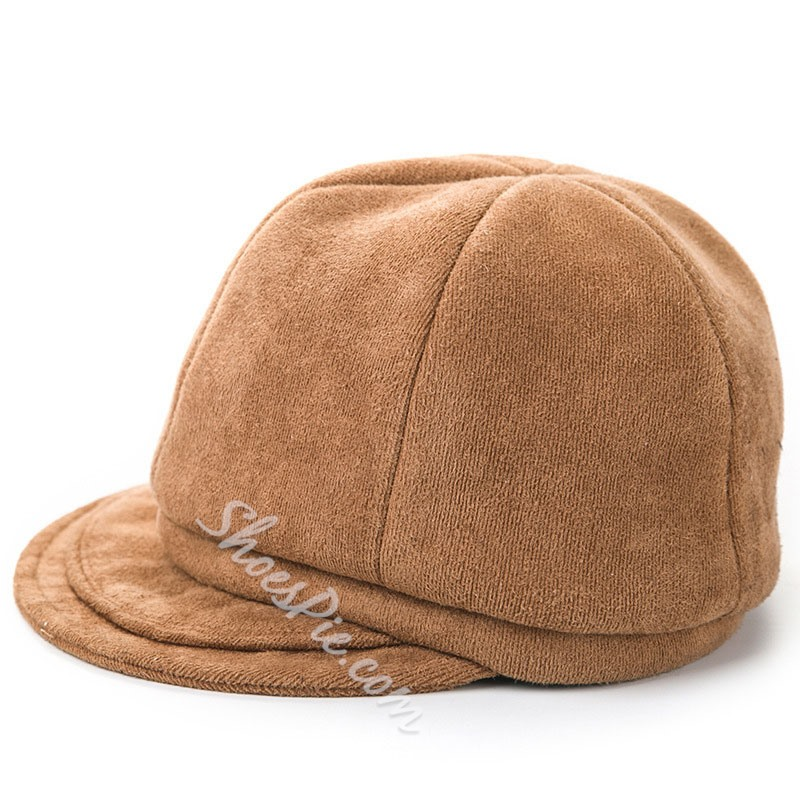 Casual Baseball Cap Polyester Winter Hats