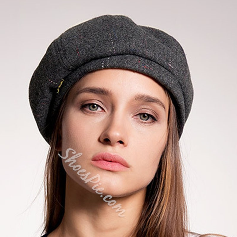 Sweet Beret Polyester Spring Hats