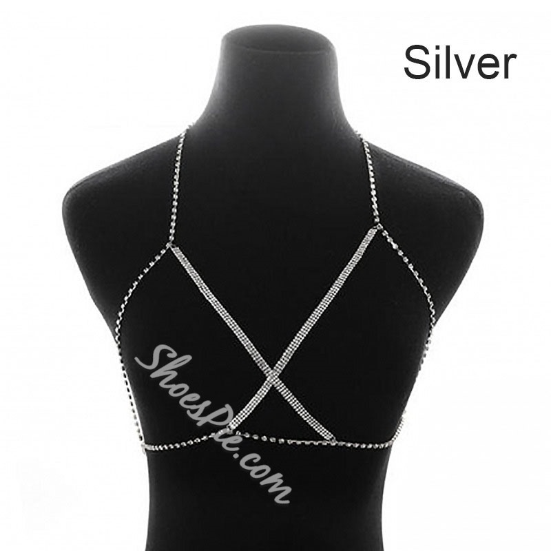 Diamante European Female Body Chain