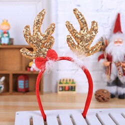 Hairband Sequins European Christmas Hair Accessories