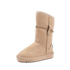 Shoespie Sexy Slip-On Plain Flat With Short Floss Boots