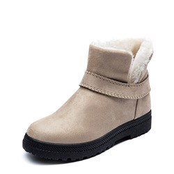 Shoespie Trendy Flat With Slip-On Plain Casual Boots
