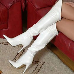 Shoespie Trendy Pointed Toe Back Zip Boots