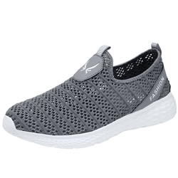 Shoespie Men's Low-Cut Upper Sports Hollow Sneakers